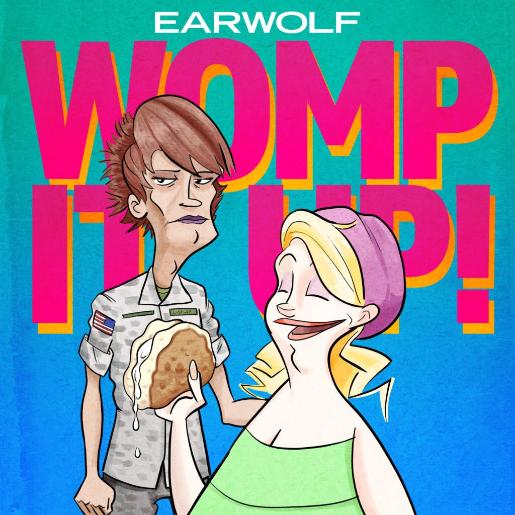 The Season 2-era logo of Womp It Up
